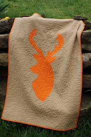 oxford impressions deer crib quilt made with paper pattern