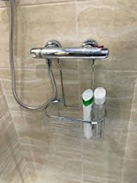 Drilling Into Bathroom Tiles Best 25 Hanging Shower Caddy Ideas On Pinterest Shower Storage