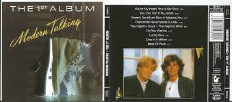 talking photo album modern talking the 1st album records lps vinyl and cds musicstack