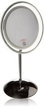 makeup mirror 10x magnification with light clearview 7 5 led tabletop illuminated magnifying mirror 10x