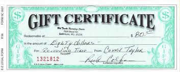 online gift certificates hot tracks sevices