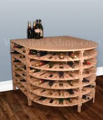 view our 144 bottle wine tasting table from the wine rack shop