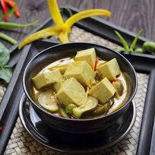 cuisiner le tofu nature curry de tofu recette sans lait et végétarienne avec du lait d