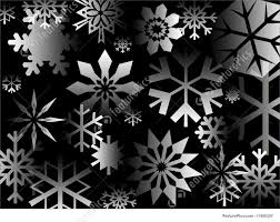 black wrapping paper illustration of black flakes