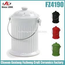 kitchen ceramic compost bin compost compost pail with