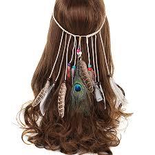 hippie hair accessories awaytrawaytr tribal style feather boho headband