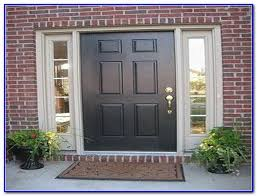 most popular red front door color painting home design ideas