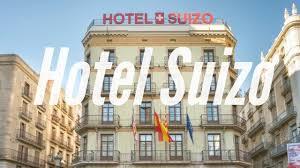 swiss hotel in barcelona spain youtube