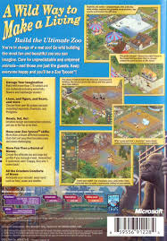 bored at home create your own zoo zoo tycoon pc amazon co uk pc video games