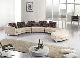 Modern Living Room Designs With Stylish Curved Sofas - Curved contemporary sofa living room furniture