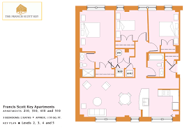 floor plans u2013 francis scott key apartments