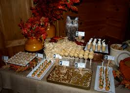 themed dessert table a party style fall festival dessert table
