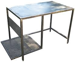 diy portable welding table free plans how to make a welding table