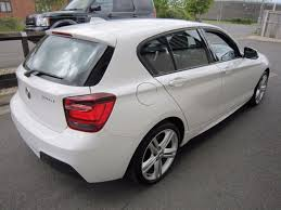 bmw 1 series x drive second bmw 1 series 120d xdrive m sport 5dr x drive xenon