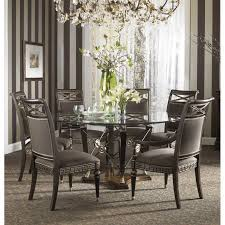 48 inch glass table top homelegance avalon round dining table with glass insert 1205 48 in