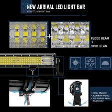 9 Led Light Bar by 9inch 600w Cree Led Light Bar Spot Flood Combo Beam 4wd Atv Suv