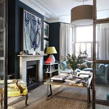 Period Style Bathroom Ideas Housetohome Co Uk by A Dark Wall Adds Drama And Sophistication To This Living Room