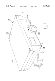 Tent Trailer Floor Plans by Patent Us6017080 Tent Camper With Slide Out Room Google Patents