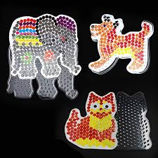 online shop 3 pieces lot diy craft fuse beads toy baby perler