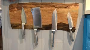 Magnet For Kitchen Knives Magnetic Wooden Knife Holder Video