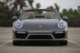 porsche gray 2017 porsche 911 turbo cabriolet first test the ultimate socal