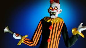 harry the crazy horn honking clown animatronic halloween prop w