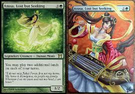 Seeking Card Azusa Lost But Seeking Altered By Madamcthulhu On Deviantart