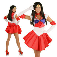 sailor mars anime superhero costume