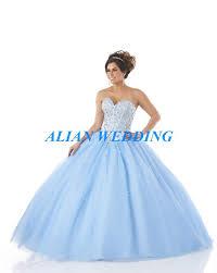 baby blue quinceanera dresses aliexpress buy design baby blue quinceanera dress