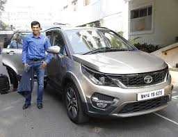 indian car tata tata hexa partners tata open india international challenge 2016