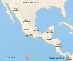 mexico america map map of mexico and central america at 1500bc timemaps
