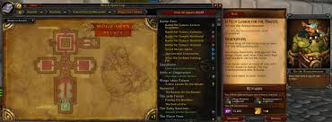 Map Quests Quest Map With Details Quests U0026 Leveling World Of Warcraft