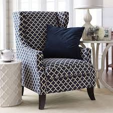Small Wingback Chair Design Ideas Navy Blue Accent Chair Various Best 25 Ideas On Pinterest Dining