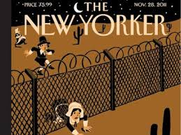 here s the new yorker s awesome promised land thanksgiving cover