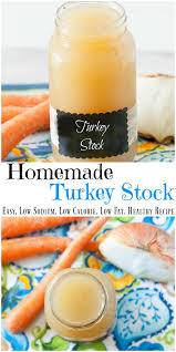 turkey stock low sodium healthy low calorie paleo