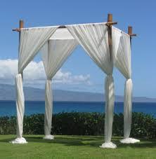 bamboo chuppah hawaii weddings planning event planning