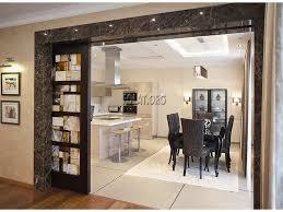 Sliding Door Design For Kitchen Curtain Ideas For Kitchen Sliding Glass Door In Contemporary Kitchen