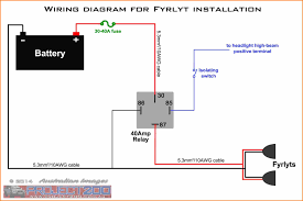 bosch 4 pin relay wiring diagram carlplant for wiring diagrams