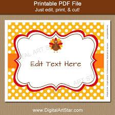 printable thanksgiving sign decoration digital