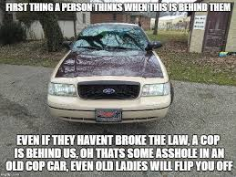 Law Enforcement Memes - another retired police car imgflip