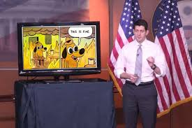 Ryan Memes - paul ryan powerpoint during health care speech becomes meme