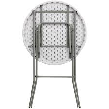 round plastic folding tables 32 round bar height white plastic folding table pft32rbh