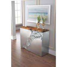 Steel Console Table Console Tables Accent Tables The Home Depot