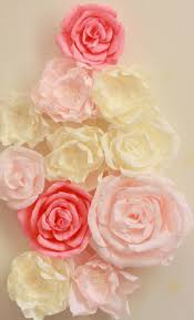 Pink Peonies Nursery Giant Paper Flower Display With Roses And Peonies Shop Window