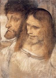 heads of sts and the greater leonardo da vinci