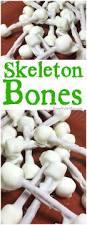 skeleton bones treats simple halloween treat idea