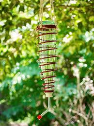 make a diy modern hummingbird feeder hgtv