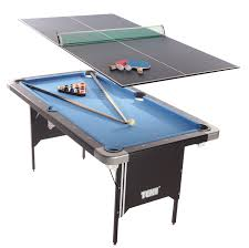 tekscore folding pool table with table tennis top amazon co uk