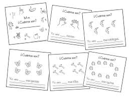 mommy maestra the letter m counting book in spanish printable