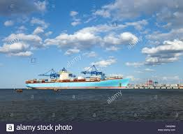 container ship is one of the largest container ships in the world